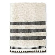 Bath Towel Thrshd SHELL EBONY