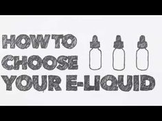 Vape School – Vaping Jill - Vaping 101 - How to choose your e-liquid and nicotine level.