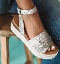 Wedges Shoes for Women Sandals Plus Size Summer Hemp Sandals Platform – #sandals #sandalsheels #sandalssummer #sandalsoutfit #sandalsflat #sandalsoutfitcasual #sandalsoutfitsummerchic #heelsclassy Ankle Straps, Ankle Strap Sandals, Strap Heels, Leopard Sandals, Black Sandals, Platform Wedges Shoes, Wedge Shoes, Shoes For College, Sandals Outfit Summer
