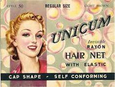 Hair net advertisement
