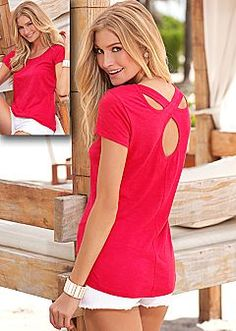 Short Sleeve Tops - Baby Doll Tops, Crochet, Detailed Styles & More