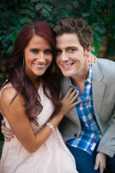 Kelsey's and Caleb's engagement photos - gorgeous couple! Ex 1gn and anthem lights:) I am dying