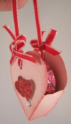 Heart Shaped Valentine Treat Holder