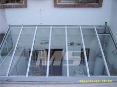 cerramientos de aluminio, techos corredizos traslucidos Glass Roof, Minimalist Home, Diy Design, Ideas Para, Sweet Home, New Homes, Patio Interior, Exterior, Yoko