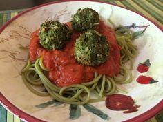 Broccoli Kale Meatless Meatballs