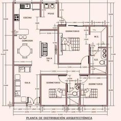 2bhk House Plan, Sims House Plans, Model House Plan, House Layout Plans, House Plans One Story, New House Plans, Dream House Plans, House Floor Plans, 30x50 House Plans
