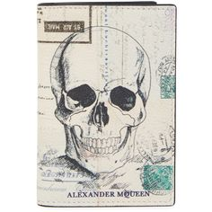 Alexander McQueen Letters From India leather card holder (5,940 THB) ❤ liked on Polyvore featuring men's fashion, men's bags, men's wallets, mens card case wallet, mens card holder wallet, mens leather card case wallet, mens leather credit card holder wallet and mens leather wallets