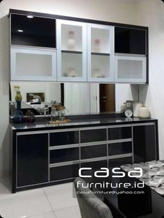 Kitchen set Minimalis | pantry | dapur bersih | Finishing hpl
