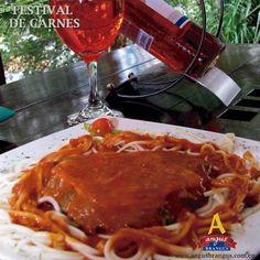 Ven y deleita tus sentidos con un exquisito Lomo de Res, queso fundido y salsa napolitana.  #Restaurantes #AngusBrangus #FestivaldeCarnes #Medellín @restaurandoco @pasaporte_vip @VisaColombia #Viernes #Almuerzo