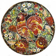 Приобрести декоративною тарелку народной тематики Интернет магазин предметов интерьера из натуральных камней Yantar.in.ua