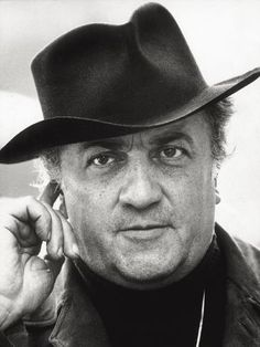 Close-up of the director Federico Fellini on set of 'Amarcord'. Rome, Get premium, high resolution news photos at Getty Images The Best Films, Great Films, Famous Movie Directors, Pier Paolo Pasolini, Black And White Pictures, Film Director, Film Posters, Hollywood Stars, Writers