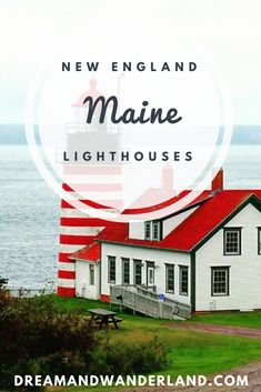 The Most Fascinating Route in the world Lethes get ready for a road trip alongside the cost and visit the best lighthouses in Maine!Lethes get ready for a road trip alongside the cost and visit the best lighthouses in Maine! New England Lighthouses, Maine Lighthouses, Arizona Road Trip, Pacific Coast Highway, Europe Destinations, Europe Travel Tips, Travel Packing, Packing Tips, Budget Travel