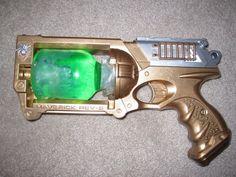 Final Steampunk Gun tutorial out of a Nerf gun…. Mike Tiffany Final Steampunk Gun tutorial out of a Nerf gun…. Steampunk Weapons, Steampunk Gadgets, Steampunk Cosplay, Steampunk Clothing, Steampunk Fashion, Steampunk Boots, Fashion Goth, Steampunk Halloween, Steampunk Crafts
