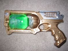 How to make a steampunk gun.  Idea #1