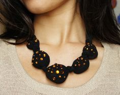 DIY Chunky Statement Necklace