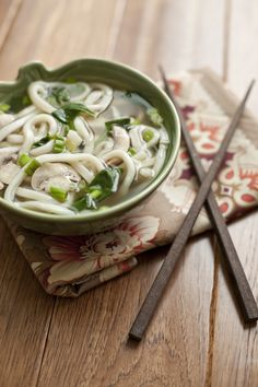 The perfect meal when you're just out of time, this udon noodle miso soup comes together in a flash and makes a warm and comforting light meal.