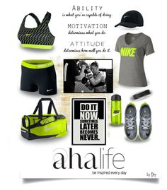 The Aha Life: Just Do It Nike by dop37 on Polyvore featuring polyvore, fashion, style, NIKE and Polar