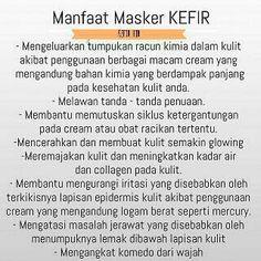 Cantik & sehat dengan bahan alami, Cuman MASKER KEFIR yang bs kasih solusi seperti itu. Aman untuk ibu hamil dan menyusui. 100% aman. Masker kefir hjb. Bpp Pin : 7D8B5622 Sms : 085386768568