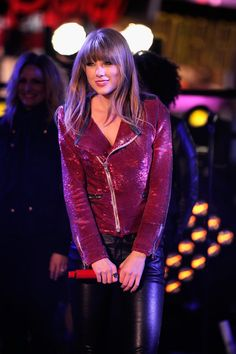 Taylor Swift's Red Sequinned Jacket ($925).