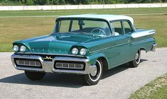 1958 Mercury Monterey front left
