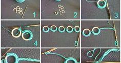 Come realizzare un braccialetto semplice all'uncinetto tutorial braccialetto OCCORRENTE (fig.1): -Anellini in plastica reperi...