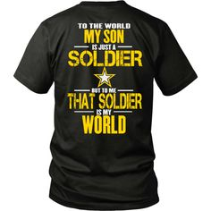Army - To The World My Son Is A Soldier