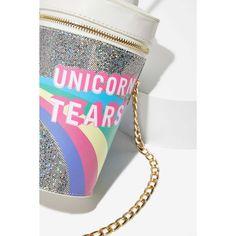 Skinnydip London Unicorn Tears Bag ($48) ❤ liked on Polyvore