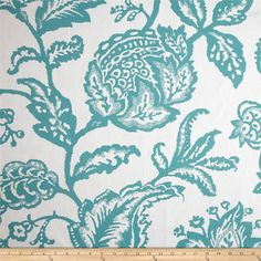 Robert Allen @ Home Jacobean Toss Jacquard Pool Fabric
