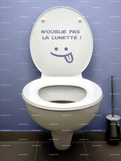 1000 images about stickers wc on pinterest stickers aquarium and rouge - Lunette wc chauffante ...
