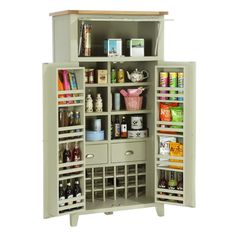 Caldecote French Grey Larder (C316) with Free Delivery | The Cotswold Company