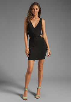 Dress with Side Cut Outs
