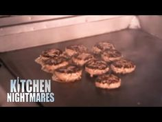 Gordon Teaches Chef His Best Burger Recipe – Kitchen Nightmares – All Recipes Food Cooking Network Grilled Burger Recipes, Cube Steak Recipes, Hamburger Recipes, Tasty Burger, Egg Burger, Onion Burger, Delicious Burgers, Meat Recipes, Cooking Recipes