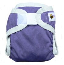 Baby Beehinds PUL Nappy Cover - Twilight Purple