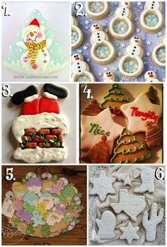 Christmas in July Cookie Collage-A Fun New Tradition www.thebearfootbaker.com