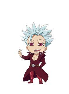 Nanatsu no taizai Ban - Anime Thing Seven Deadly Sins Tattoo, Seven Deadly Sins Anime, 7 Deadly Sins, Anime Chibi, Anime Naruto, Kawaii Anime, Cowboy Bebop, Ban Anime, Inu Yasha