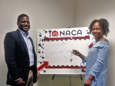 "Mr. and Mrs. Williams: ""We are grateful for the NACA program. Staff was friendly and welcoming. Teamwork makes the dream work!"" A 3% rate and they're paying less than rent! #Cleveland #Millennials #NACAPurchase #AmericanDream 3.159%"