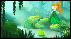 La princesse et la grenouille (ou le roi grenouille) French Teacher, Teaching French, French Poems, Film D, Reading Club, French School, World Languages, French Immersion, Author Studies