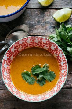 Wortel pastinaak soep | eten uit de volkstuin