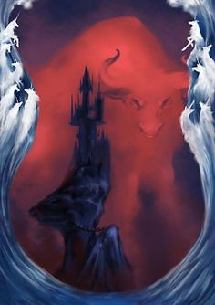 The Last Unicorn by Peter S. Beagle; met this artist and bought a print of this direct from her :)