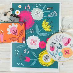 print & pattern: ETSY - maggiemagoo designs