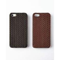 The Case Factory Treccia iPhone 5 Case (€86) ❤ liked on Polyvore featuring accessories and tech accessories