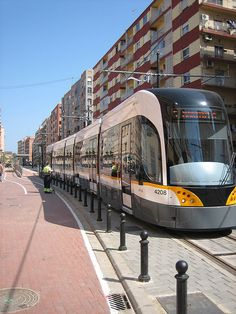 Tram system in Valencia teen review.