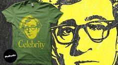 Obra de Roberto Almarza sobre camiseta de algodón serie limitada de 20 unidades para PinPonGo