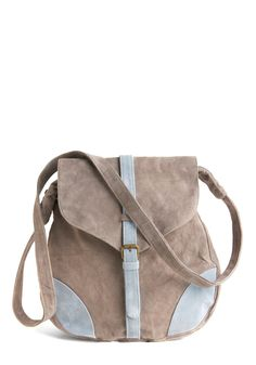 suede bag by Spanish designer, Kling