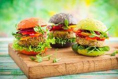 3 receitas de hambúrguer vegetariano