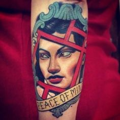 High quality inspiration by Adrian Edek. For more tattoo culture check out somequalitymeat.com