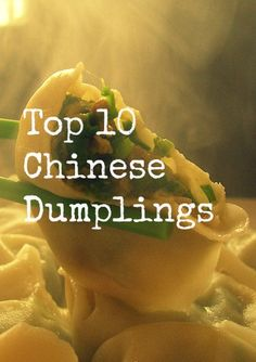 Overview of our favorite 10 Chinese dumplings from three months of traveling in China. SO good!!