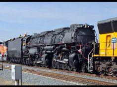 Big Boy 4014 Steam Train - The Road to Restoration: Pomona to Colton - YouTube