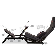 You no longer need a dedicated cockpit for racing. The will put you in the driver's seat with the exact Formula style seating position and can easily switch to a GT driving position for all your other sim-racing. Racing Seats, Racing Wheel, Sims, Racing Simulator, Gaming Room Setup, Pub, Game Room Design, Secret Rooms, Diy Games
