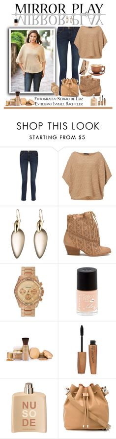 """""""mirror play"""" by sasane ❤ liked on Polyvore featuring Current/Elliott, Ralph Lauren Blue Label, Alexis Bittar, Vivienne Westwood Anglomania, Style & Co., Rimmel, Mariah Carey, COSTUME NATIONAL and Proenza Schouler"""